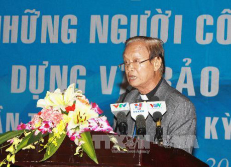 Ho Chi Minh City Catholic followers promote patriotism and national unity