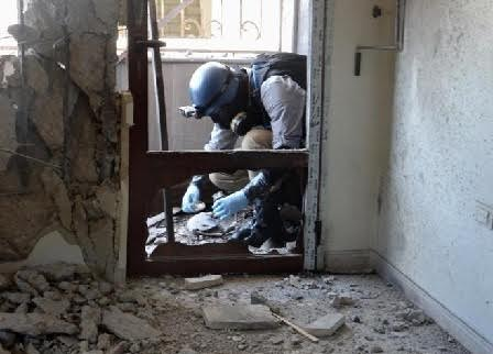 Syrian government rejects a report on Allepo chemical weapon use