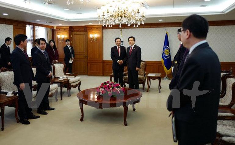 Korean leader praises Vietnam-RoK ties
