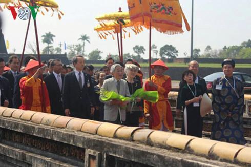 Japanese Emperor and Empress visit Hue