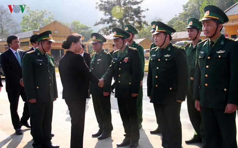 NA Chairwoman visits Dien Bien province