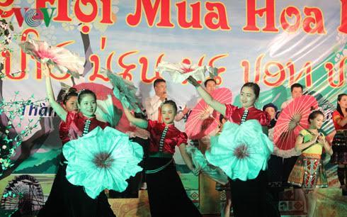 Ban flower festival promotes the northwestern region's tourism