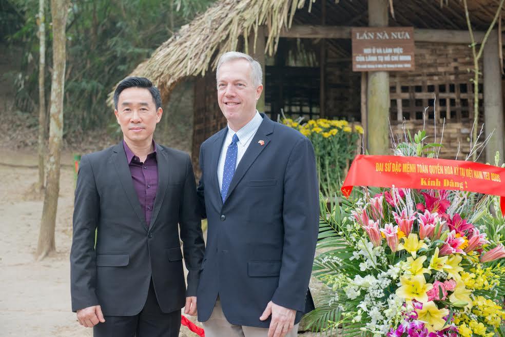 US Ambassador visits Tan Trao historical relic site