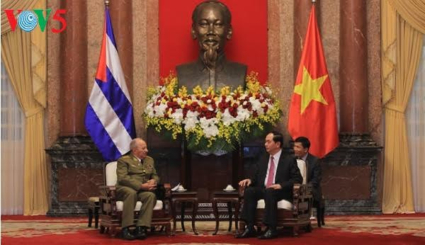 Vietnamese leaders welcome Minister of Cuban Revolutionary Armed Forces