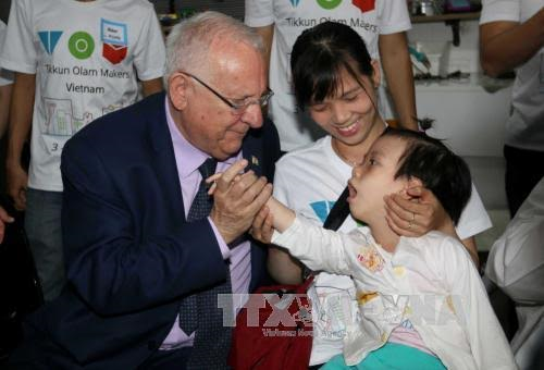 Israeli President and his spouse wrap up their state visit to Vietnam