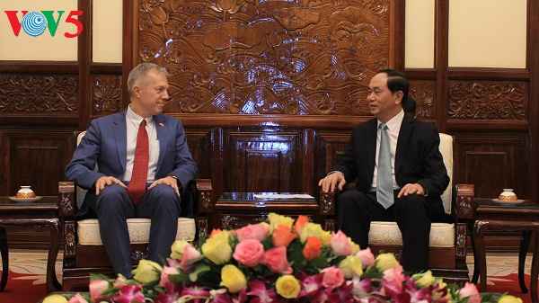 Vietnam hopes for more cooperation with the US: President Tran Dai Quang