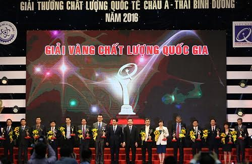 National Quality Award presented