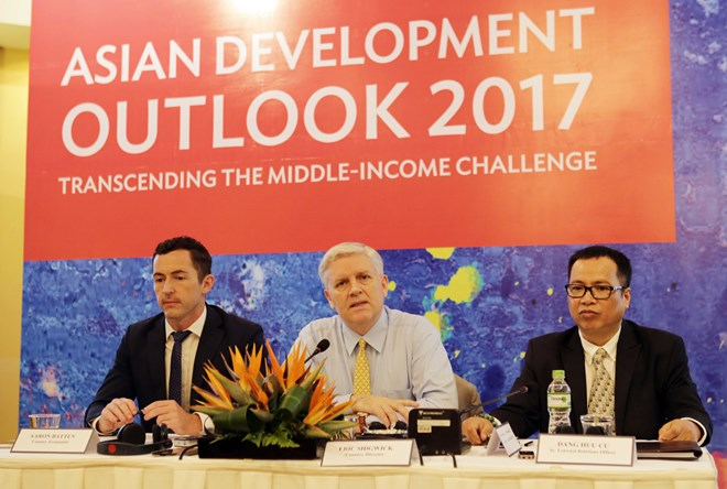 Vietnam's economy to grow at 6.5 percent in 2017: ADB