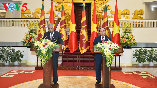 Vietnam, Sri Lanka target 1 billion USD in bilateral trade