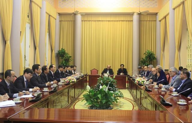 Vietnam, Iran foster cooperation
