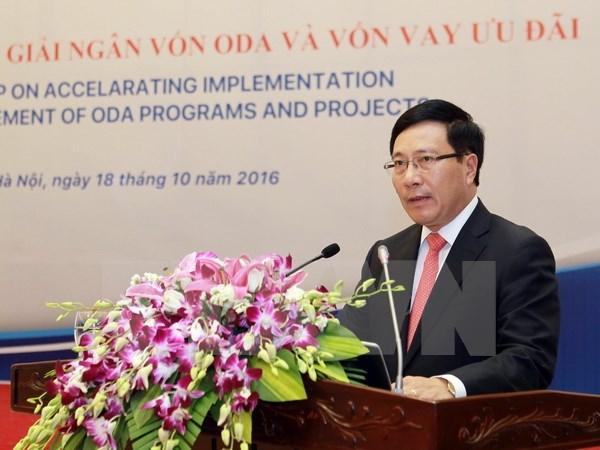 Deputy PM chairs meeting on ODA use