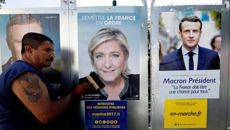 Elecciones presidenciales de Francia comienzan con avance del populismo
