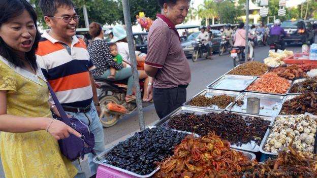 Daya tarik dari masakan jalanan  di Kamboja