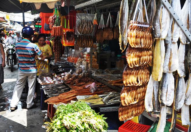 Kekhususan pasar Kamboja di kota Ho Chi Minh