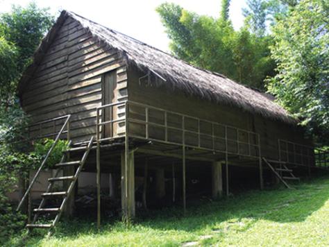 Arsitektur perumahan warga etnis minoritas K'ho