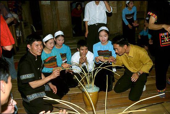 Ritual minum miras Can dalam kehidupan warga etnis K'ho
