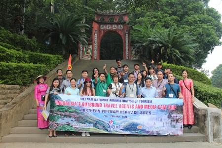 Menyosialisasikan pusaka di Vietnam Utara kepada semua Perusahaan Pariwisata Perjalanan Indonesia