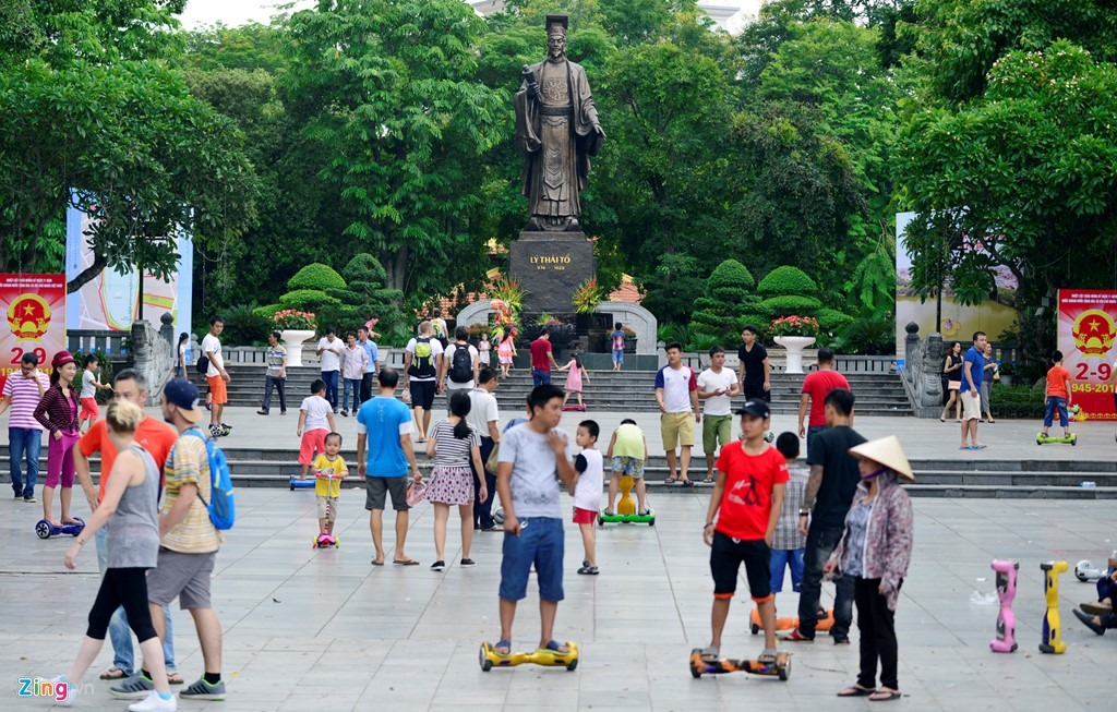 Kota Hanoi menciptakan daya tarik yang  lain dari yang  lain bagi para turis