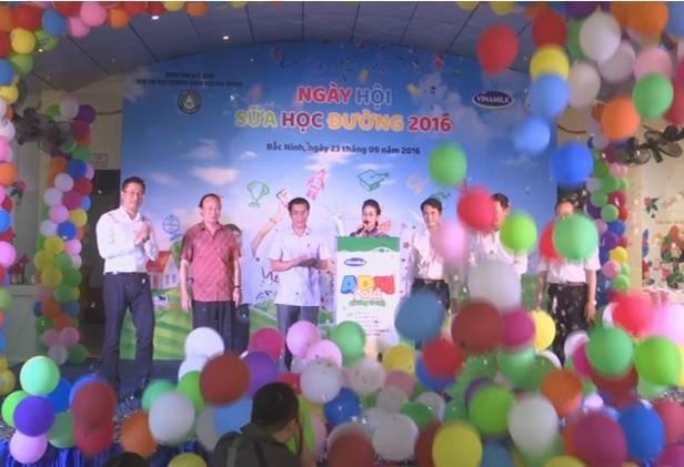Hasil-guna dari program susu untuk sekolahan di propinsi Bac Ninh