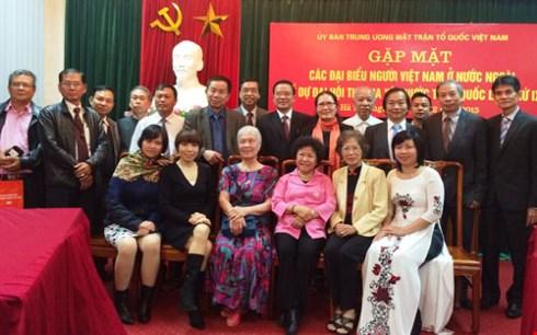 Sumber daya dari kaum diaspora Vietnam dalam membangun Tanah Air