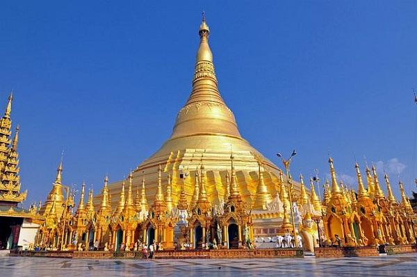 Pagoda Emas Shwedagon, benda pusaka  di Ibukota Yangon