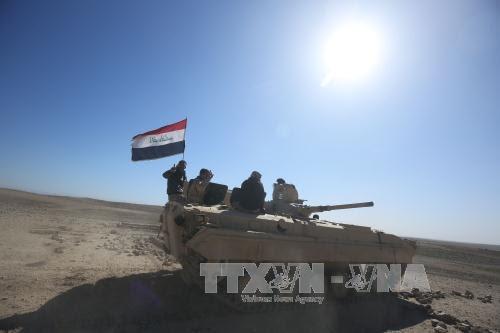 Tahap yang penting untuk memundurkan  pasukan IS dari Irak