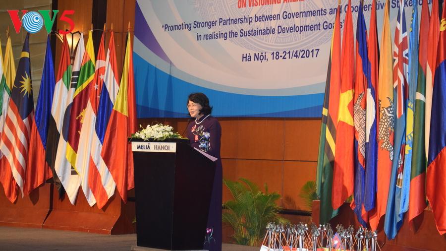 Konferensi ke-10  Menteri Koperasi Asia-Pasifik