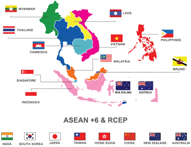 Malaysia, New Zealand push for RCEP following US pullout from TPP