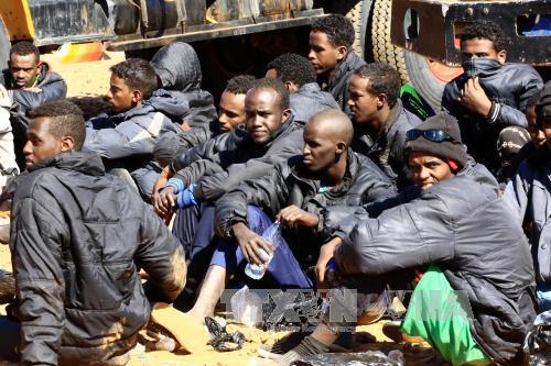 Libyan coast guard intercepts hundreds of refugees