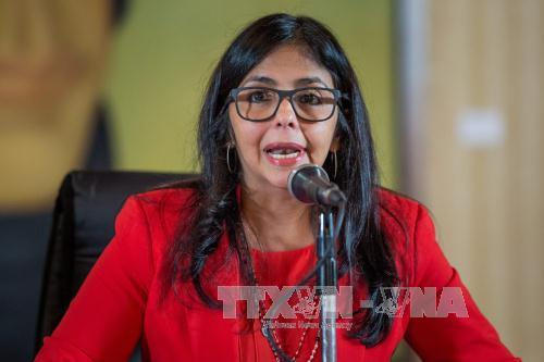 Venezuela condemns verbal attacks against its Vice President by US