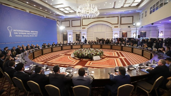 Syria peace talks held in Kazakhstan