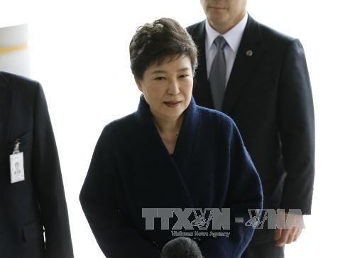 South Korean prosecutors end interrogation of ousted President Park