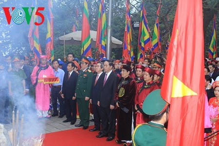 Jubilant celebration of Hung Kings festival 2017