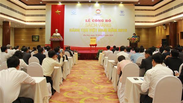 Vietnam Innovation Golden Book 2016 makes its debut
