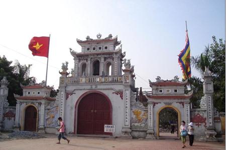ハイズオン省のチャン神社