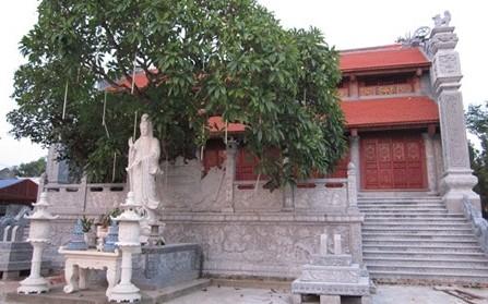 ハイズオン省のクオンサ寺