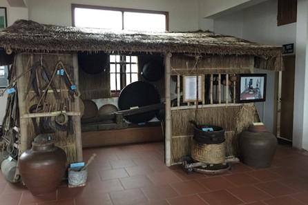 ザオトゥイ県の郷土博物館