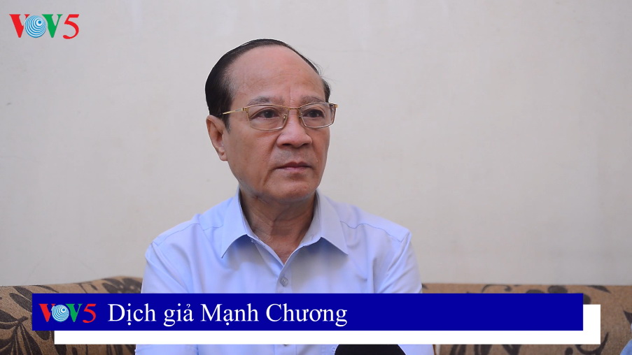 Dịch giả Mạnh Chương chia sẻ về quá trình dịch