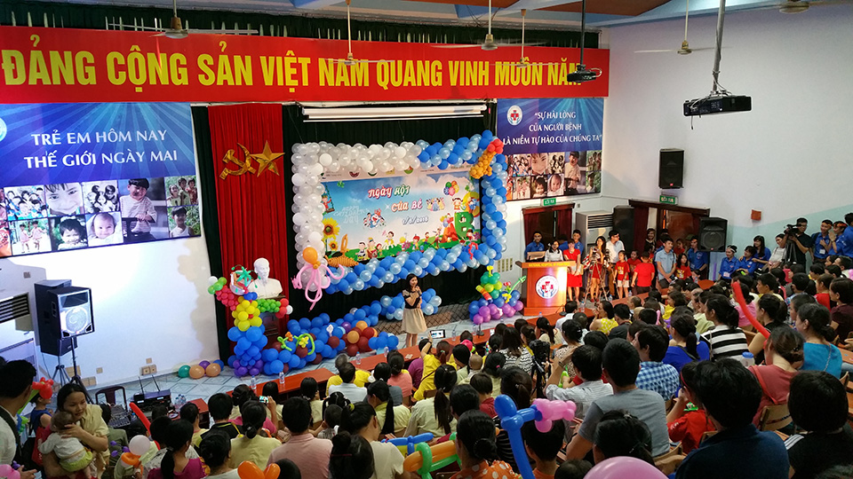 Hauptstadt Hanoi: Lebendige Aktivitäten zum internationalen Kindertag