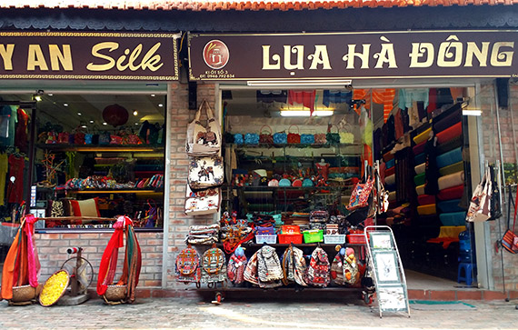 Desa sutra Van Phuc, titik cerah pariwisata
