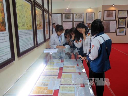 Tỉnh Hải Dương triển lãm bản đồ và trưng bày tư liệu Hoàng Sa, Trường Sa của Việt Nam