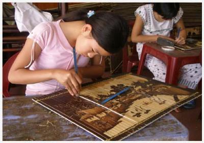 Mây tre đan Xuân Lai - nơi lưu giữ hồn quê Việt