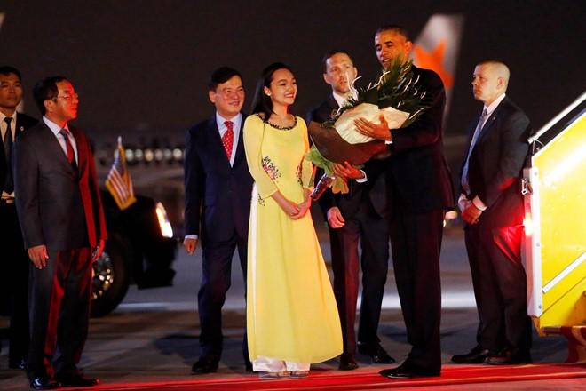ประธานาธิบดีสหรัฐ บารัค โอบามา เดินทางเยือนเวียดนามอย่างเป็นทางการ