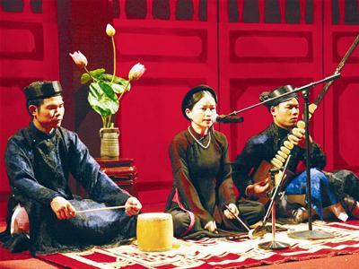 """เพลงพื้นเมืองกาจู่ """"จ่างอานหว่ายโก๋"""" และเพลงโจ่ววัน """"โกโดยเถื่องหง่าน"""""""