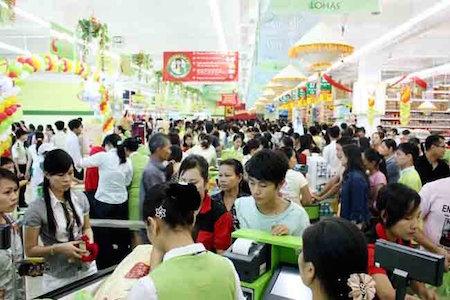Empresas de ventas minoristas de Vietnam reafirman su posición