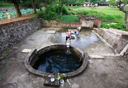 Los pozos reflejan la vida espiritual en las aldeas vietnamitas
