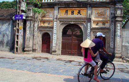 Singularidad cultural de la aldea Phu Luu