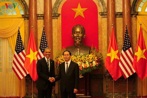 Panorama kunjungan Presiden Amerika Serikat, Barack Obama di Vietnam
