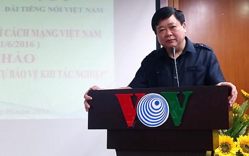 Salam Tahun Baru -2017 dari Dirjen VOV, Nguyen The Ky