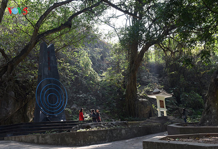 Mengunjungi tempat Presiden Ho Chi Minh membacakan sajak untuk  mengucapkan selamat Hari Raya Tet pada 70 tahun yang lalu